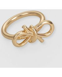Gloria Ortiz - Golden Ring With Bow - Lyst