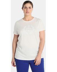 Denim & Supply Ralph Lauren - Plus Size White Short Sleeve T-shirt - Lyst