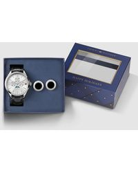 Tommy Hilfiger - 1770014 Leather Multi-function Watch - Lyst