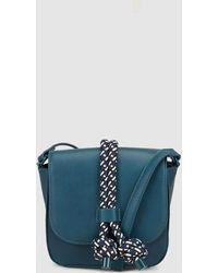 2f001a1f5b58b Jo   Mr. Joe - Beck Small Petrol Blue Messenger Bag With Front Pull String