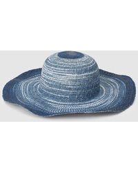 Unmade Copenhagen Dip Dye Hat in Natural - Lyst
