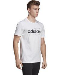 adidas Originals Slim Trefoil T Shirt in Brown (Red) for Men