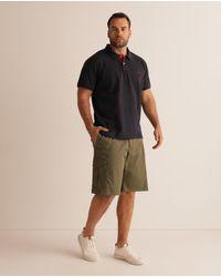 GANT Pantalón Corto De Hombre Liso Verde Tallas Grandes
