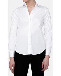 Mirto - White Long Sleeve Shirt - Lyst