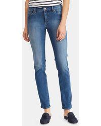 Lauren by Ralph Lauren - Five-pocket Straight-leg Jeans - Lyst