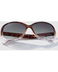 El Corte Inglés - Wo Havana Rectangular Resin Sunglasses - Lyst