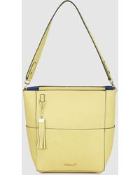 Pepe Moll - Small Yellow Tote Bag With Matching Tassel - Lyst