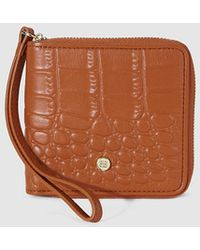 Gloria Ortiz - Adrienne Small Brown Leather Wallet - Lyst