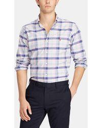 Polo Ralph Lauren - Slim-fit Checked Shirt - Lyst