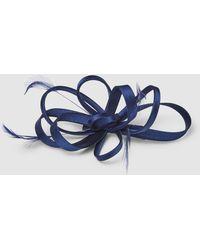 El Corte Inglés Navy Blue Clip Fascinator With A Bow