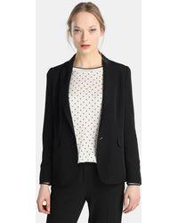 Yera - Black Blazer With Two Pockets - Lyst