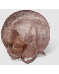El Corte Inglés Taupe Saucer Fascinator With Bow - Brown