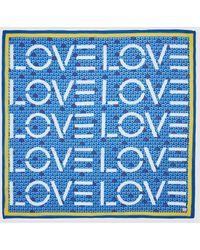 Esprit Blue Hearts Cotton Bandana