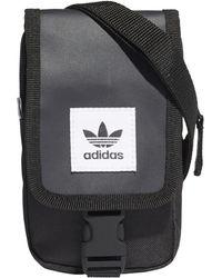deb889c6be3f Lyst - adidas Originals Perforated Flight Bag in Black for Men