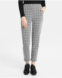 Green Coast - Checked Straight Trousers - Lyst
