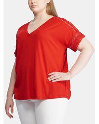 Denim & Supply Ralph Lauren - Plus Size T-shirt With Short Sleeves - Lyst