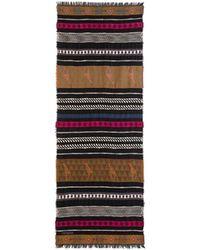 Desigual - Jirafa Foulard With African Border Print - Lyst