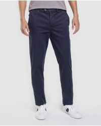 Brooks Brothers - Blue Slim-fit Chinos - Lyst