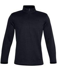 Under Armour Sweaterfleece 1/2 Zip Sweatshirt - Blue