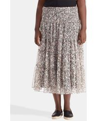 Denim & Supply Ralph Lauren | Plus Size Long Floral Print Skirt | Lyst