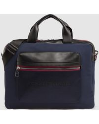 17bc572f8bf Tommy Hilfiger - Navy Blue Portfolio With Combined Details - Lyst