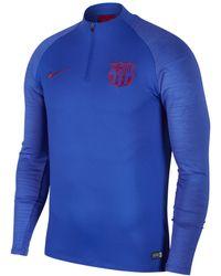 Nike Fc Barcelona 2019-2020 Strike Dri-fit Shirt - Blue