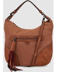 Pepe Moll - Brown Hobo Bag With An Outer Pocket - Lyst