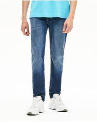 Lacoste Mens Blue Slim Fit Jeans