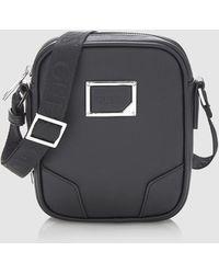 Guess - Mens Small Black Crossbody Bag - Lyst