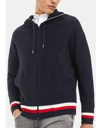 80868d2ec Mens Blue Sports Jacket With Hood
