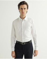 HUGO - Camisa De Hombre Regular Lisa Color Blanca - Lyst