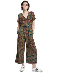 LKOUS Womens Summer Casual Off Shoulder Loose Wide Leg Long Pants Jumpsuits One Piece Romper Overalls Plus Size Palazzo