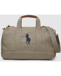 Polo Ralph Lauren Green Travel Bag