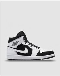 16d88e2413836e Lyst - Nike Air Jordan 1 Mid Casualwear Trainers in Red for Men