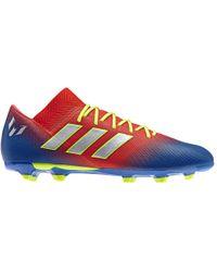 671c2c4a4d8 adidas Nemeziz Messi Tango 17.3 Turf Boots in White for Men - Lyst