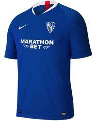 official photos 8f454 00103 Sevilla Fc 2019-2020 Third Kit T-shirt - Blue