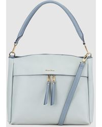 Robert Pietri - Sky Blue Hobo Bag With Detachable Strap - Lyst