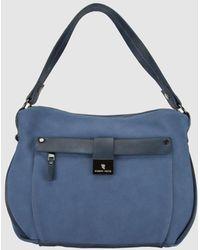 Robert Pietri Blue Hobo Bag With Zip