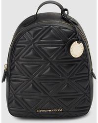 aacc9b6b2a5a Shop Women s Emporio Armani Backpacks Online Sale