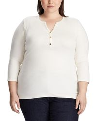 Denim & Supply Ralph Lauren - Plus Size Knitted T-shirt - Lyst