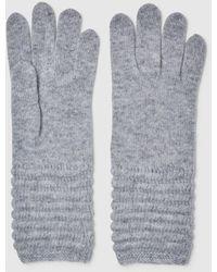 El Corte Inglés Gray Knitted Gloves