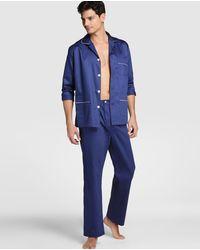 Mirto Pijama De Hombre Azul