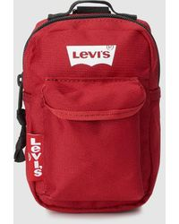 Levi's Levis Red Mini Crossbody Bag That Can Be Worn On Your Belt