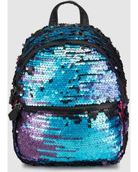 Green Coast - Wo Backpack With Multicoloured Sequins - Lyst
