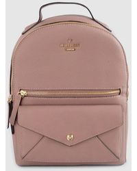 Nine West Pink Backpack With Outer Pockets