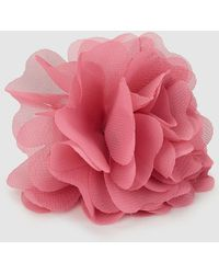 El Corte Inglés Pink Clip Fascinator With Flower