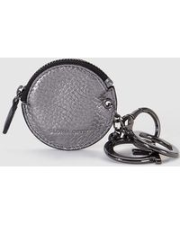 Gloria Ortiz - Wo Silver-toned Purse With Keyring - Lyst