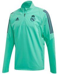new product 1194d 2c0df Real Madrid Cf 2019-2020 Training Sweatshirt - Green