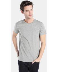 Esprit Basic Gray Short Sleeve T-shirt