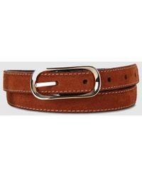 El Corte Inglés Brown Leather Belt